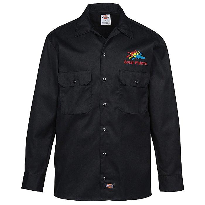 c9ca3220 4imprint.com: Dickies 5.2 oz. Long Sleeve Work Shirt 108382-LS