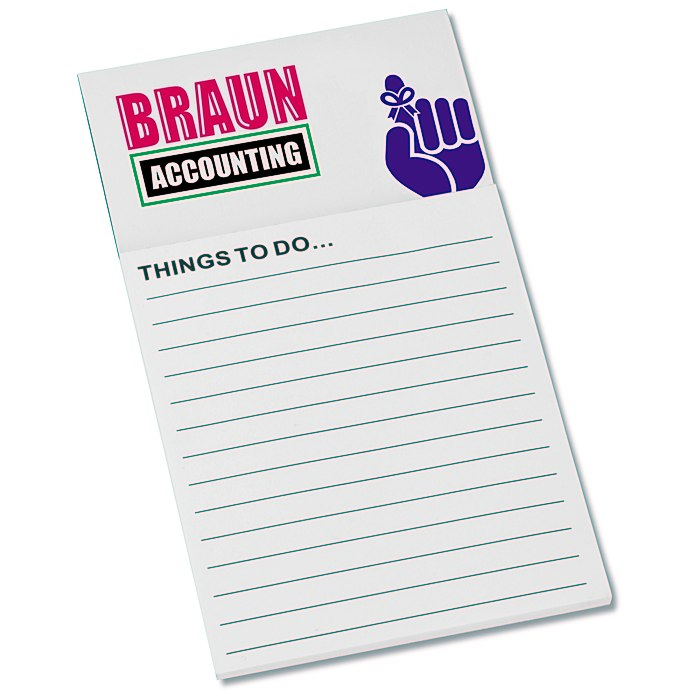 4imprint.com: Bic Business Card Magnet with Notepad - Don\'t Forget ...