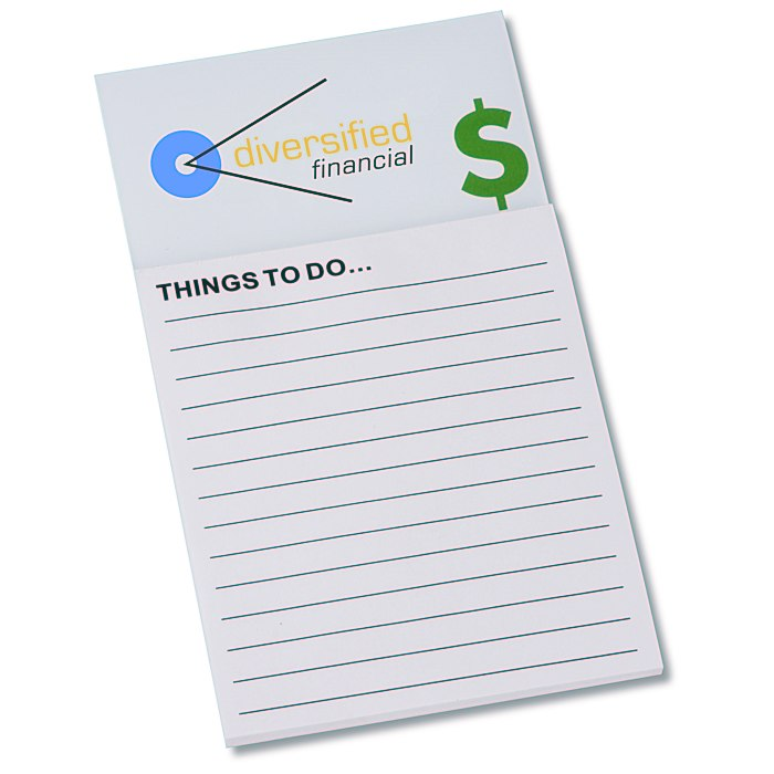 4imprint.com: Bic Business Card Magnet with Notepad - Dollar Sign ...