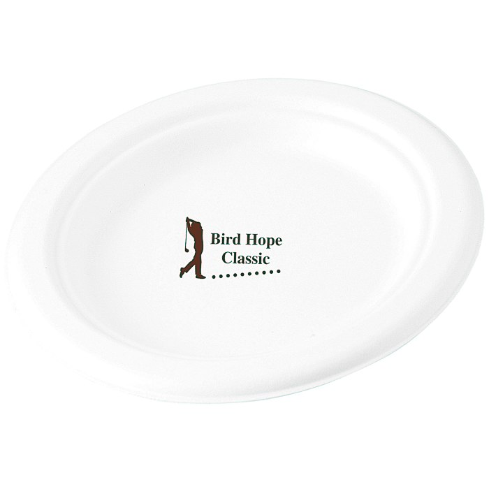 Compostable Paper Plate - 7\  Main Image. Loading zoom  sc 1 st  4Imprint & 4imprint.com: Compostable Paper Plate - 7\