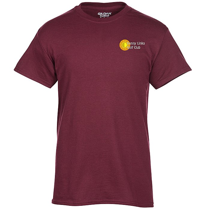 eada10b6 4imprint.com: Gildan 5.5 oz. DryBlend 50/50 T-Shirt - Embroidered ...