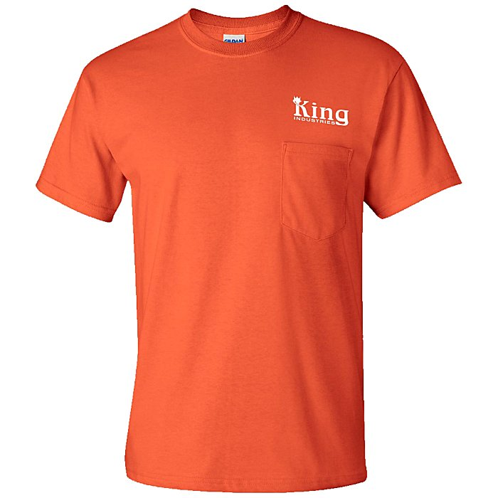 5f3907a5 4imprint.com: Gildan 6 oz. Ultra Cotton Pocket T-Shirt - Screen - Colors  590-P-S-C