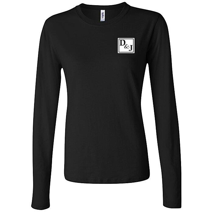 286d44a3 4imprint.com: Bella+Canvas Long Sleeve Jersey T-Shirt - Ladies' - Colors  110249-L-LS-C