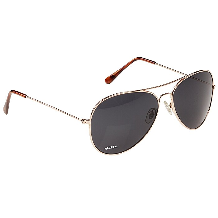 5768e2cb2efe 4imprint.com: Airman Aviator Sunglasses 110925