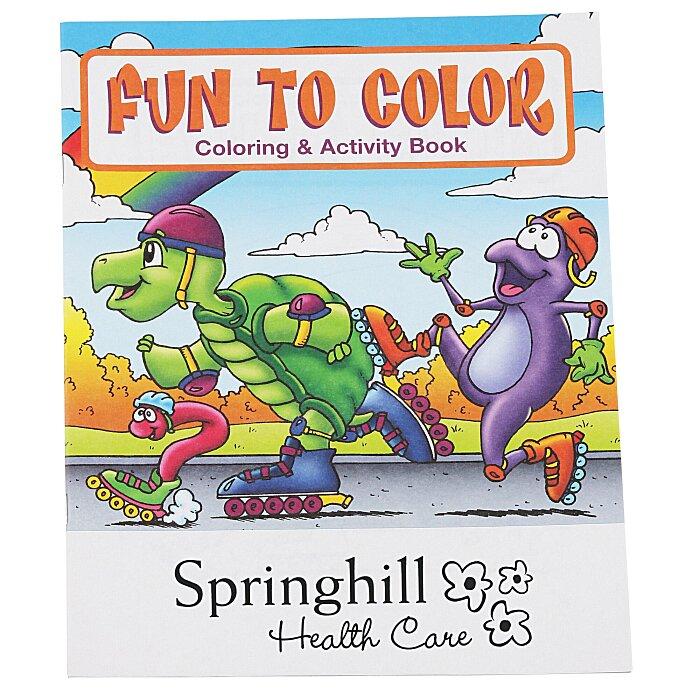 Fun To Color Coloring Book