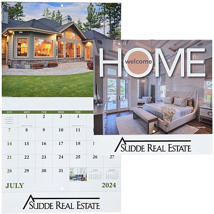 4imprint Com Welcome Home Calendar Stapled 112076 St