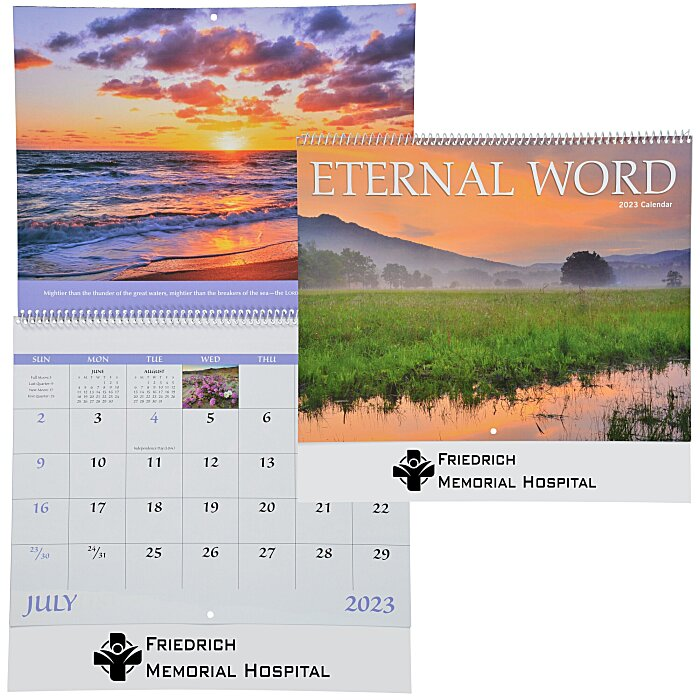 4imprint Com Eternal Word Calendar 112274 Imprinted With Your Logo