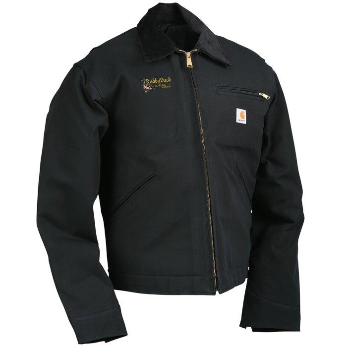 4imprint Carhartt Duck Detroit Jacket Blanket Lined 112596