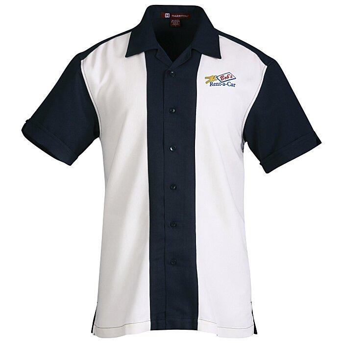 38991e7eda1 4imprint.com  Harriton Two-Tone Bahama Cord Camp Shirt 112740