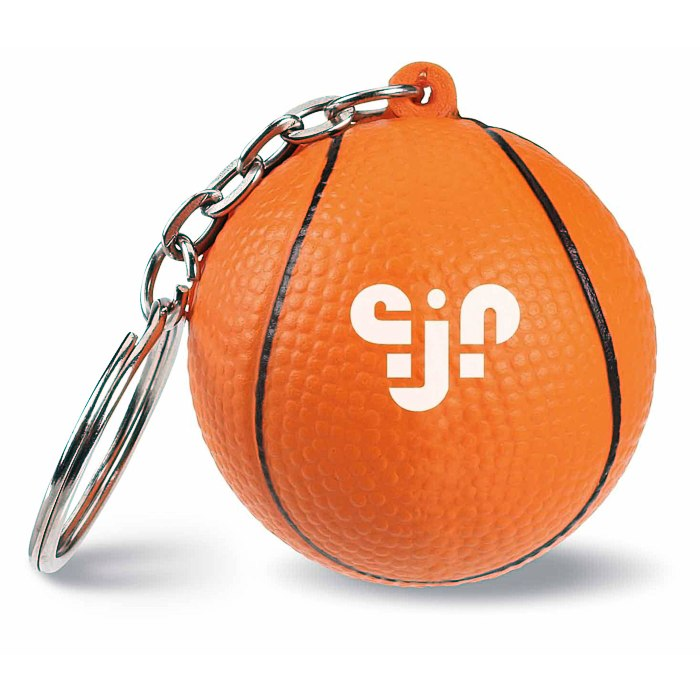 Basketball Squishy : 4imprint.com: Squishy Keychain - Basketball 113011-BK: Imprinted with your Logo