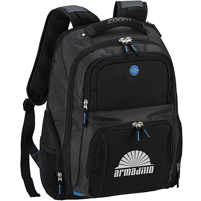 bab43a27d328 4imprint.com  Zoom Checkpoint-Friendly Laptop Backpack 113835