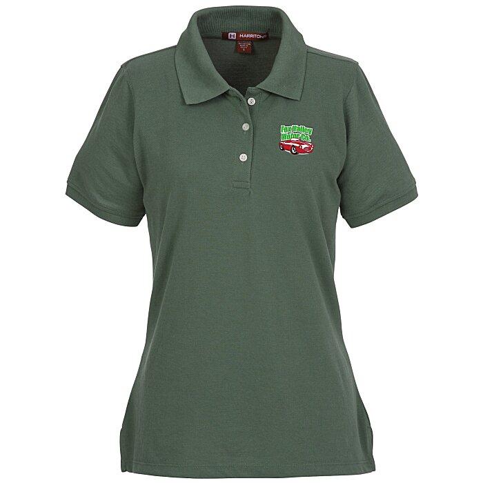 18f0c925 4imprint.com: Harriton 5.6 oz. Easy Blend Polo - Ladies' - 24 hr  105472-L-24HR