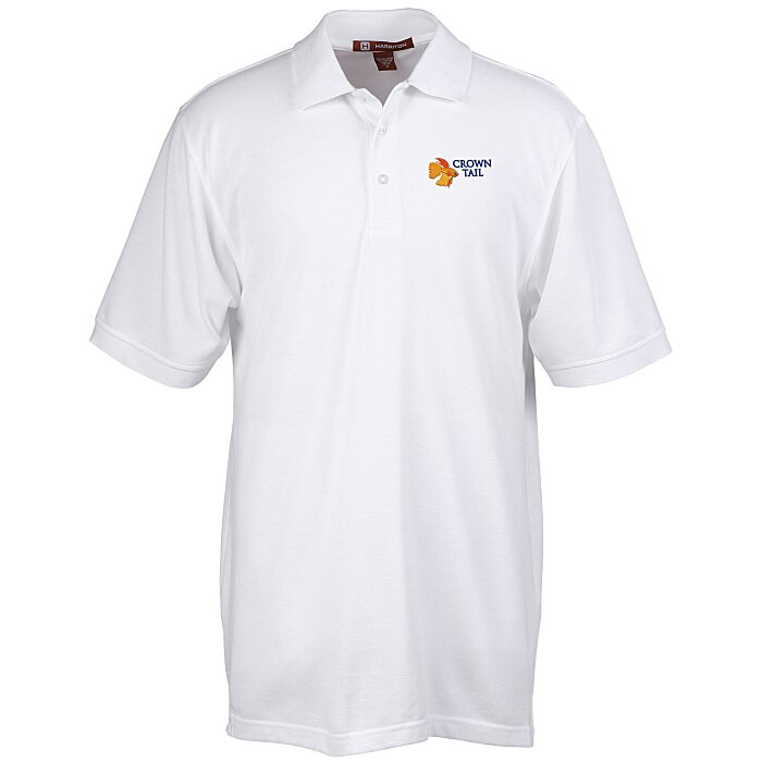 ad8f5760 4imprint.com: Harriton 5.6 oz. Easy Blend Polo - Men's - 24 hr 105472-M-24HR