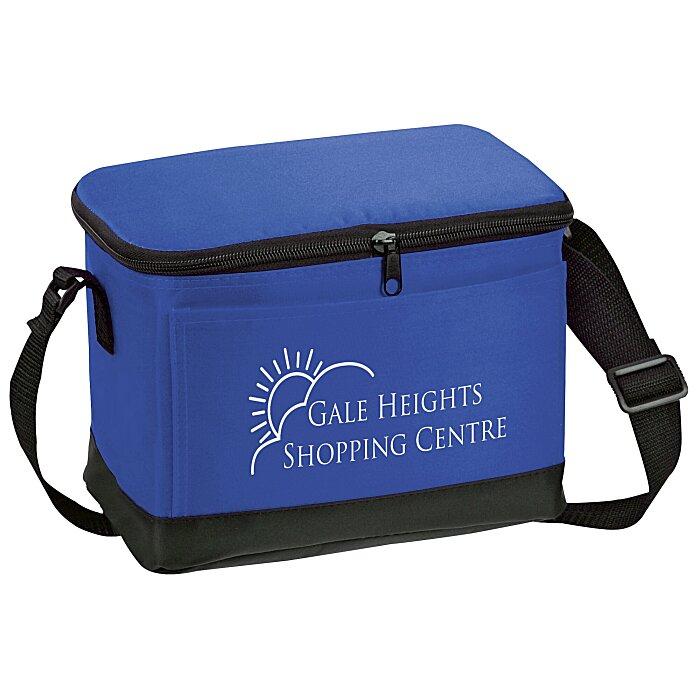 6 Pack Cooler ~ Imprint pack insulated cooler bag
