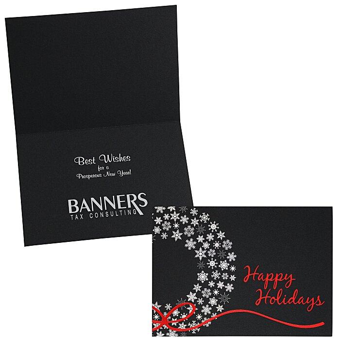 best service ad422 9c612 4imprint.com: Happy Holidays Greeting Card 113342-HH