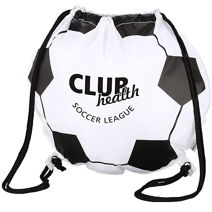 Bags | Drawstring Sportpacks | Game Time! Soccer Ball Drawstring ...