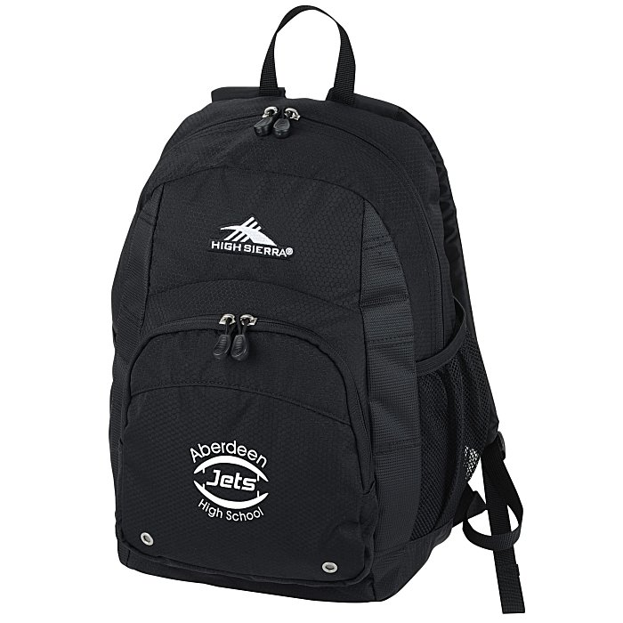 5b7ddd24e7 4imprint.com  High Sierra Impact Backpack 9331