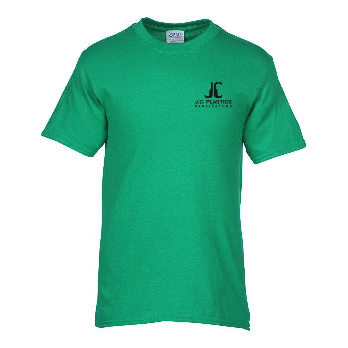 5f7f7813 4imprint.com: Soft Spun Cotton T-Shirt - Men's - Colors - Screen  118390-M-C-S