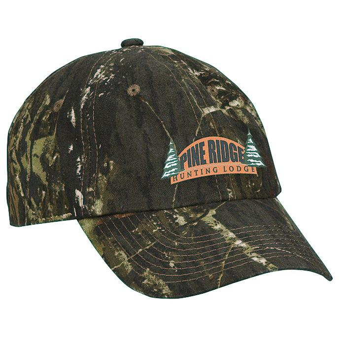 4imprint.com  Hunter s Hideaway Cap - Mossy Oak Break-Up 119229-MO 93139337b7c7
