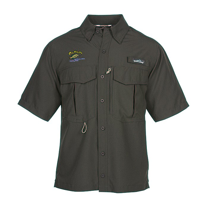 ce3f0c7b 4imprint.com: Eddie Bauer SS Moisture Wicking Fishing Shirt 119073-SS