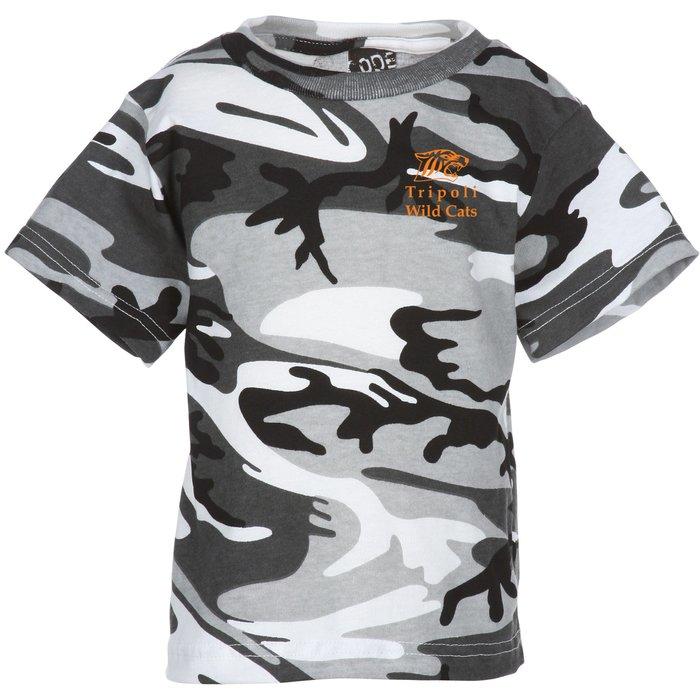 77f9ccdb73 4imprint.com: Code V Camouflage T-Shirt - Youth 119426-Y