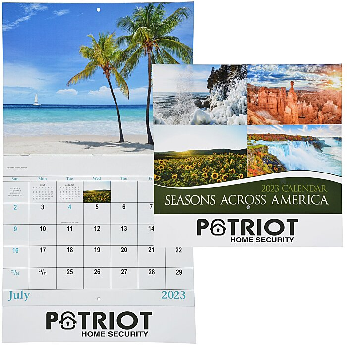 4imprint.com: Seasons Across America Calendar