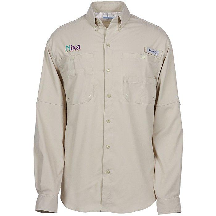 bb8edfefd84 4imprint.com: Columbia Tamiami II Roll Sleeve Shirt - Men's 120149-M