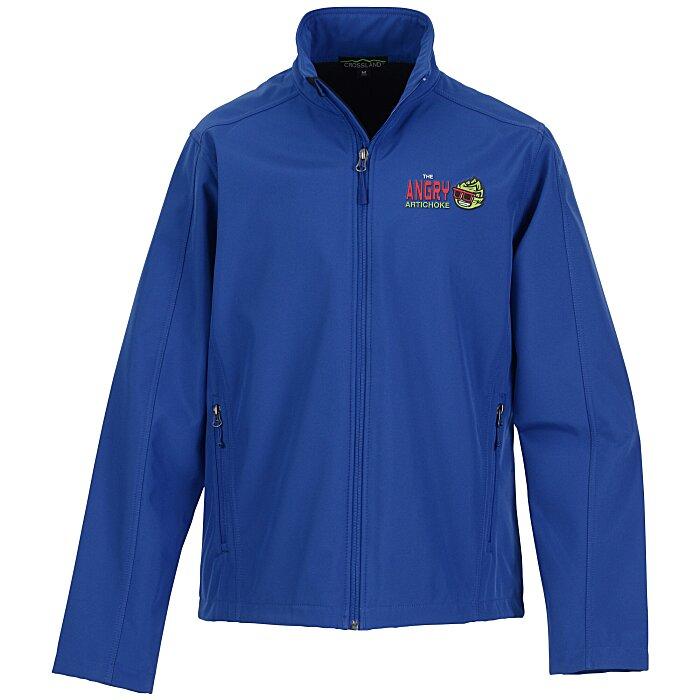 099df419240 4imprint.com  Crossland Soft Shell Jacket - Men s 120156-M
