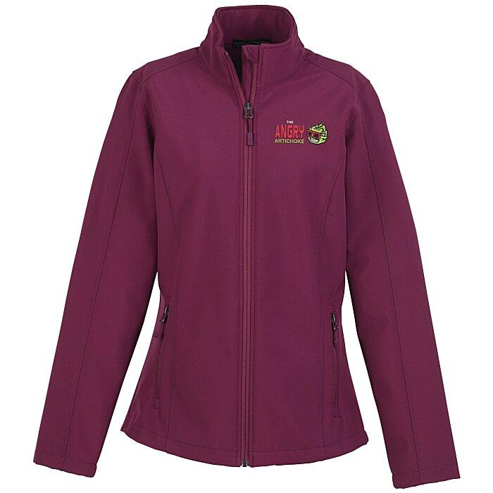 cedd260505ec 4imprint.com  Crossland Soft Shell Jacket - Ladies  120156-L