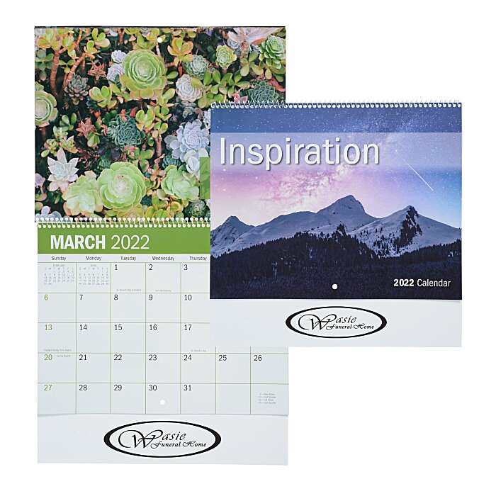 4imprint.com: Inspirational Calendar - Spiral