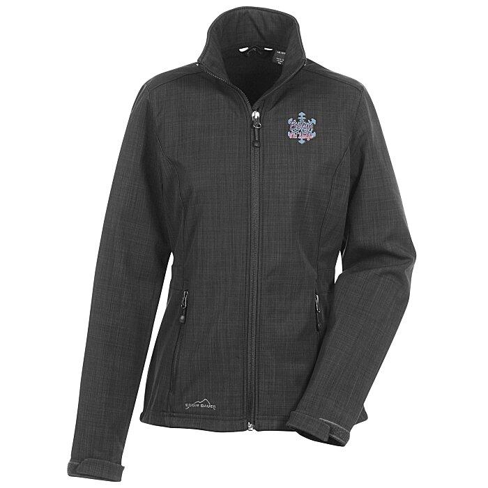4c1459932f7 4imprint.com  Eddie Bauer Crosshatch Soft Shell Jacket - Ladies  120492-L