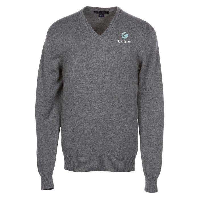 874b123616f 4imprint.com  Fine Gauge V-Neck Sweater - Men s 120503-M