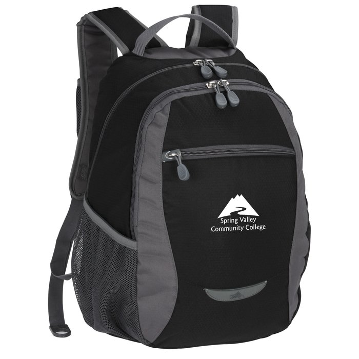 7147ac6de 4imprint.com: High Sierra Curve Backpack 120707