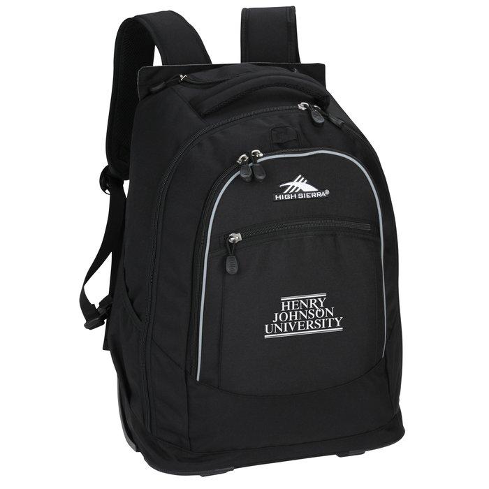 4ddd0947f6 4imprint.com  High Sierra Chaser Wheeled Laptop-Backpack 120728