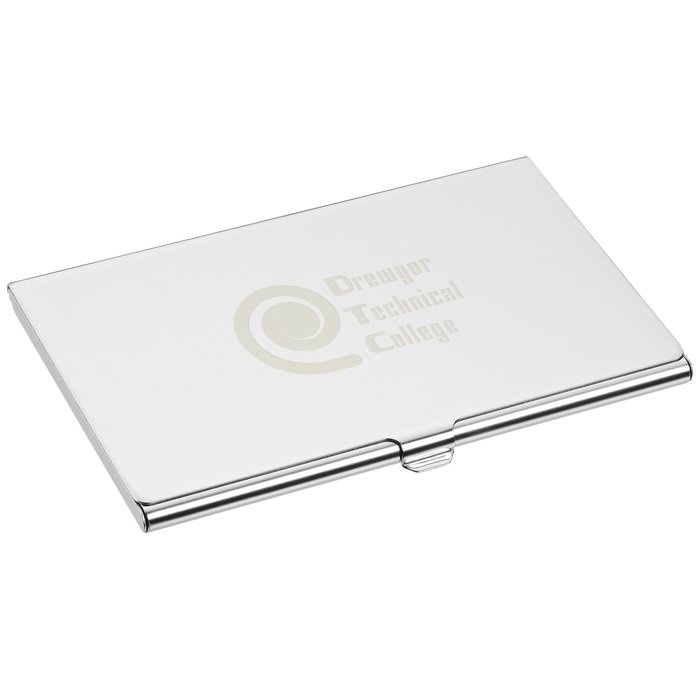 4imprint.com: Mirror Business Card Case 121597: Imprinted with your Logo