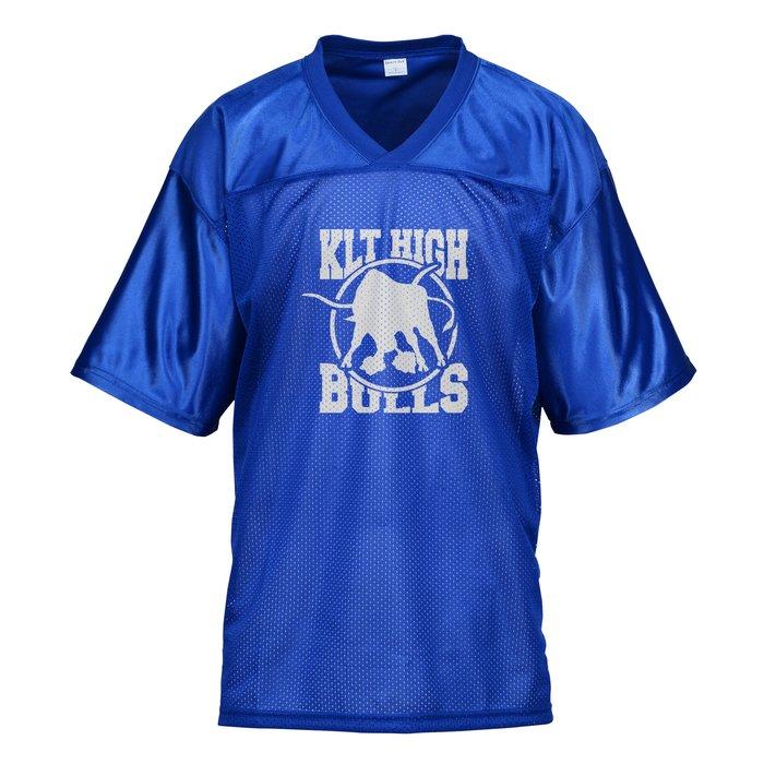 3e7f4684 4imprint.com: Poly Mesh Jersey V-Neck T-Shirt - Men's 122938-M