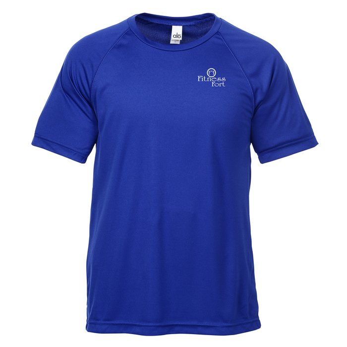 198f9116562b 4imprint.com  All Sport Performance Raglan T-Shirt - Solid 123741