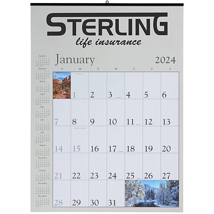 decorator memo wall calendar 123712