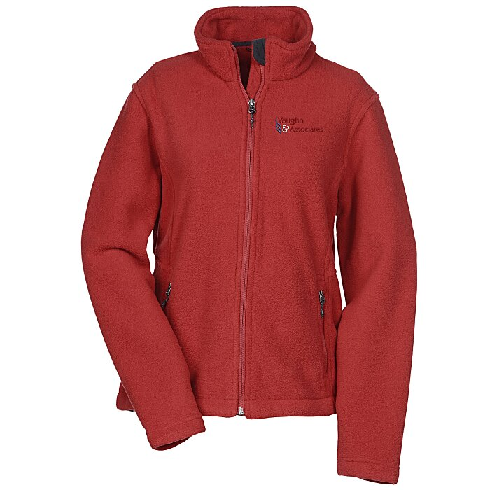 low priced f792e 7c2a1 4imprint.com  Crossland Fleece Jacket - Ladies  123990-L