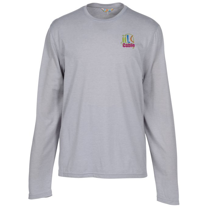 869ea00388 4imprint.com  Holt Long Sleeve T-Shirt - Men s 124655-M