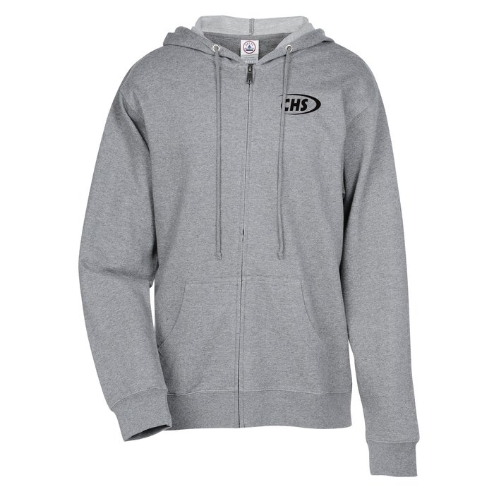 a23c31c1d Personalized Zip Up Hoodies | Full Zip Sweatshirts With Logo
