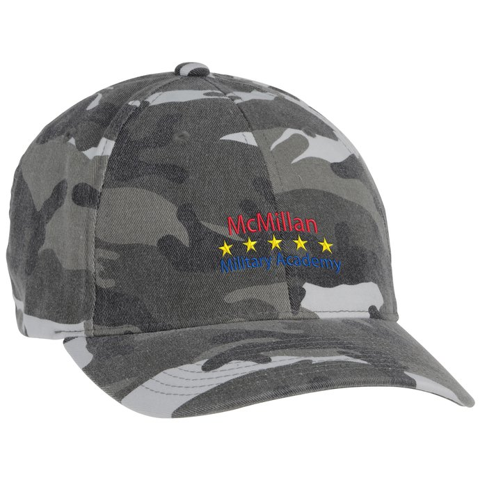 3fb38b0b29b 4imprint.com  Flexfit Washed Camo Cap 124726