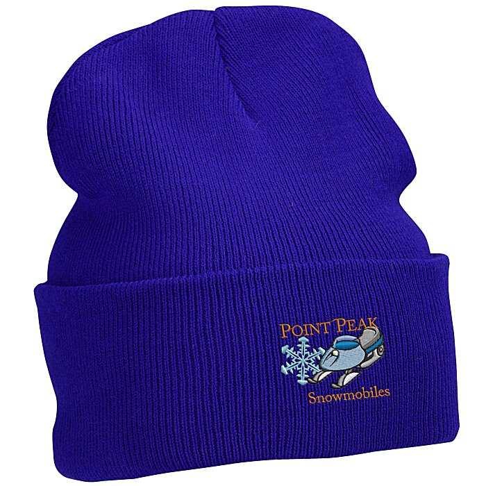 ef52b03c1a6 4imprint.com  Big Cuff Knit Cap 125033