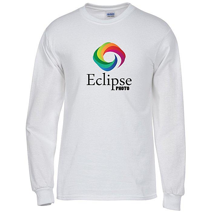 ca9364aaccbe 4imprint.com: Gildan 6 oz. Ultra Cotton LS T-Shirt - Men's - Full ...
