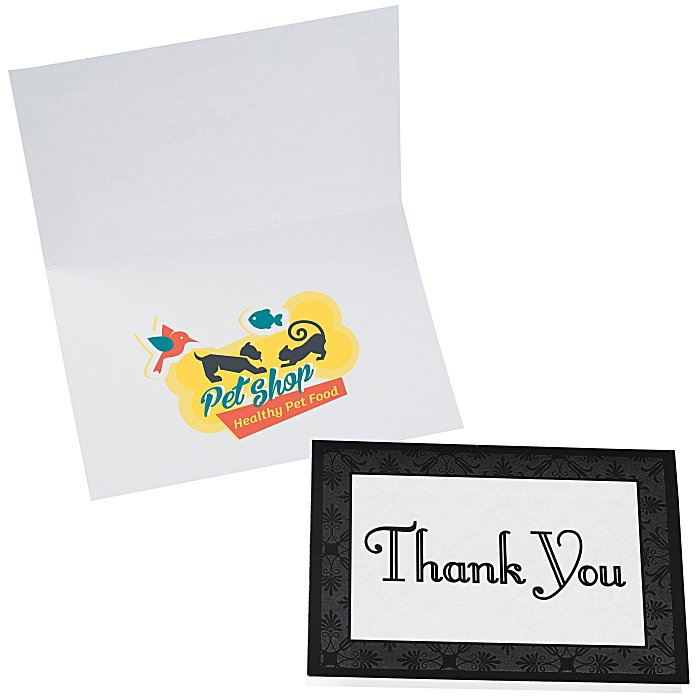 Thank You Single Note Card