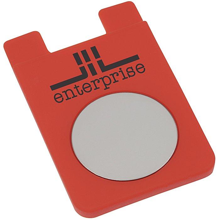 4imprint.com: Adhesive Cell Phone Wallet - Mirror 119373-MI ...