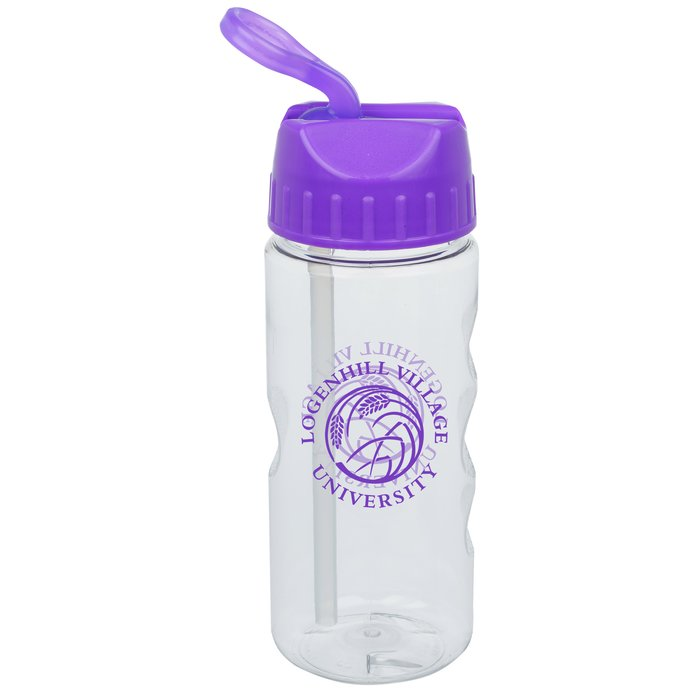 Bike Water Bottle With Long Straw Fda Paint Approved Fda