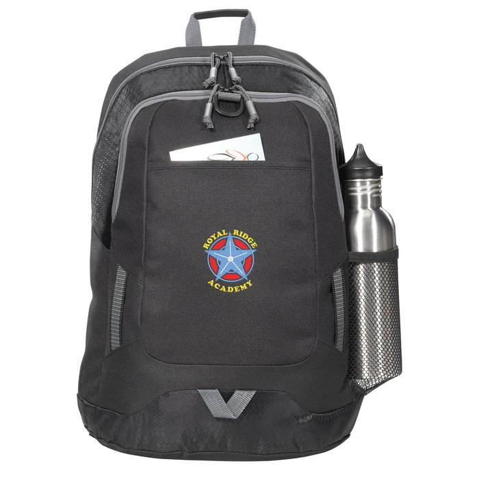 Maverick Laptop Backpack - Embroidered Main Image ddfb29ae75573