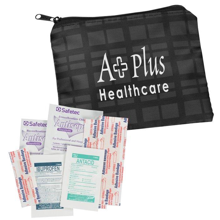 4imprint Com Fashion First Aid Kit Plaid 111157 Pl