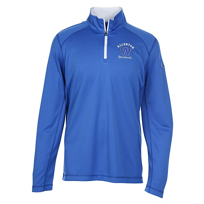 2b0f1c1bd311 PUMA Golf Tech 1 4-Zip Top - Men s Main Image
